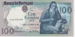(B0380) PORTUGAL, 1985. 100 Escudos. P-178d. UNC - Portugal