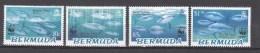 Bermuda 2004,4V,set,WWF,bleu Tuna,fish,vissen,fische,poissons,peche,peces,pesce,MNH/Postfris(A2614) - Vissen