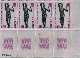 FRANCE:1974, EUROPA, Set Of 2; . Complete Sheets Of 50. MAURY #1788/89. Cv € 50.00 - Ganze Bögen