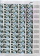 FRANCE:1960. Complete Sheets Of 50. MAURY # 1239. Vallee De La Sioule. CV €65.00 - Ganze Bögen