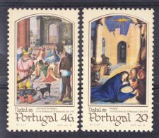 PORTUGAL 1985.AFINSA  Nº 1741/1742 NATAL '85 SES348GRANDE - 1910-... República