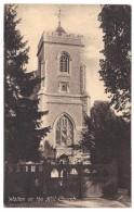 Walton On The Hill Church - Roberts - Postmark 1908 - Surrey