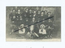 """CPA - Huilliécourt - La Section De Trompettes """"Les Jeunes"""" De Chaumont - Fête Jeanne D´Arc (3 Septembre 1911) - Autres Communes"""