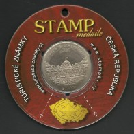 Czech Republic, Buchlovice, Stamp Medaile, Souvenir Jeton, Sealed - Tokens & Medals