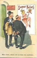 Carte Articulée /Cabaret/ Super Folies/Jean Chaperon/Editions Picard/Années 60     CPH24 - Humour