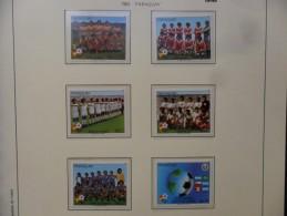 PARAGUAY   1982  Ivert  1945/50 ** MNH. - Fußball-Weltmeisterschaft