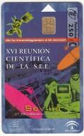 SPAIN - Satellite & Satellite Dish, XVI Reunion Cientifica De La S.E.E./Sevilla, Tirage 6000, 10/98, Used - Raumfahrt