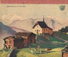 """1942 CALENDRIER """"Travaux De Chez Nous"""" édité Par Les J.A.C. Et Les J.A.C.F. Complet Et En TBE. Format: 21/24,50 Cm - Calendriers"""