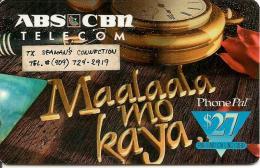-CARTE-PREPAYEE-USA-27$-ABS CBN-1997--TBE - Sonstige