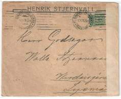 9533 Russia 1916 History WWI Kuopio Military Censorship - WW1