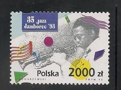 "Poland: 1993 International Jazz Festival, ""Jazz Jamboree '93"" MNH - 1944-.... République"