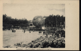 CPA Carte Postale Neuve Représentant Gonflement D´un Ballon Annonay Ardèche Le Champ De Mars Ballon Monté Mongolfière - Montgolfières