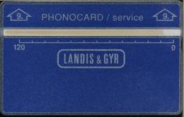 Netherlands - L&G - Service - SE-17 - 509A - 4.000 Ex. - MINT - R - Test & Dienst