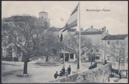 "Mošćenička Draga, Square, With Auxiliary Post Office Cancellation ""Draga (Moščenić - Kroatien"