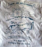 SCOUTISME - T-SHERT Scouts De France - Codepie Val De Seine - WE Departemental - Scouting