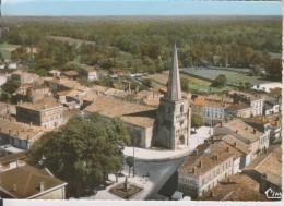 D33 - ST LAURENT DE MEDOC - L'EGLISE ET LE CENTRE - VUE AERIENNE - CPSM Grand Format - France