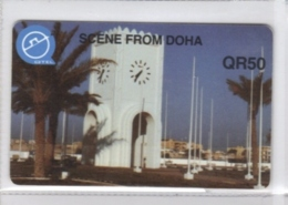 Carta Telefonica Quatar - Scene From Doha  -  Carte Telefoniche@Scheda@Schede@Phonecards@Telecarte@Telefonkarte