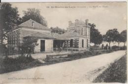 D33 - ST MARTIN DE LAYE - LA MAIRIE ET L'ECOLE - Autres Communes