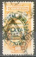 PERU - Yv. 24-10 Cent. - TAXE-PER-2742 - Perù
