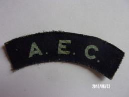 Army Education Corps GB WWII - Ecussons Tissu