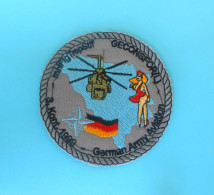 GERMANY ARMY - SFOR - United Nations Peacekeeping Mission In Bosnia Deutschland Armee Bundeswehr AVIATION - HELICOPTERE - Stoffabzeichen