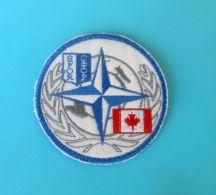 CANADA ARMY .. SFOR - United Nations Peacekeeping Mission In Bosnia Patch Deutschland Armee Flicken Bundeswehr UN Forces - Stoffabzeichen