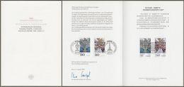 """Bund China: Minister Card Ministerkarte Typ VII, Mi-Nr. 2007-08 """" Würzburg Chengde """", Joint Issue Gemeinschaftsausgabe - [7] Federal Republic"""
