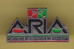 50548-pin's-boisson..ARIA.recherche Alcoologie. - Boissons