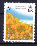 BIOT - Territoire Britannique De L'Ocean Indien 2009 FLEURS, FLOWERS ** - British Indian Ocean Territory (BIOT)