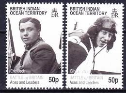 BIOT - Territoire Britannique De L'Ocean Indien 2010 BATTLE OF BRITAIN ** - Territoire Britannique De L'Océan Indien