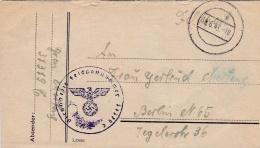 Feldpost WW2: Reserve-Infanterie-Bataillon 479 (3. Kompanie)  FP 37379C P/m 18.6.1943 - Letter Inside Signed In The East - Militaria