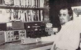Amateur Radio QSL - K4JYO - Uniontown, AL -USA- 1974 - 2 Scans - Radio Amateur