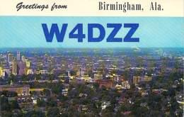 Amateur Radio QSL - W4DZZ - Pleasant Grove, AL -USA- 1974 - 2 Scans - Radio Amateur