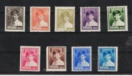 1928 - Roi Michael I  Mi No 320/328 Et Yv 336/343 - 1918-1948 Ferdinand, Carol II. & Mihai I.