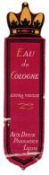 ETIQUETTE EAU DE COLOGNE EXTRA VIEILLE AUX DEUX PASSAGES LYON - Labels
