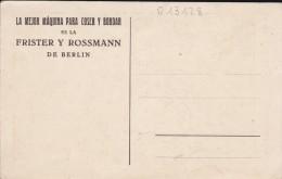 SPECTACLE--CONSTANCE TALMADGE-la Mejor Maquina Para Coser Y Bordar Es La Frister Y Rossmann De Berlin--voir 2 Scans - Cinema