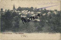 Court-St-Etienne : Vue Générale     ( Ecrit 1908 Avec Timbre ) - Court-Saint-Etienne