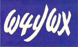 Amateur Radio QSL - W4YWX - Stone Mountain, GA -USA- 1974 - 2 Scans - Radio Amateur
