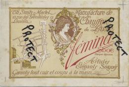 Leuven : FEMINA - Manufacture De Chaussure De Luxe // TH. Smits-Martel ( Geen Postkaart - Reklame Kaart ) - Leuven