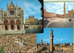 5 CART. SIENA - Cartoline