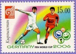 Kyrgyzstan 2006.  Football World Cup 2006.  Mi# 461  MNH
