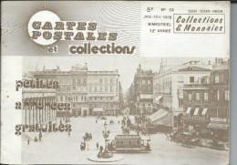 Magasine . Cartes Postales Et Collections Janvier 1978 Illustration &  Thèmes Divers 50 Pages - Français