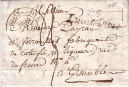 DROME - 25 LUC EN DIOIS - CURSIVE DU 21 AVRIL 1835 - CACHET T11 DE DIE - LETTRE AVEC TEXTE ET SIGNATURE SERREUX. - Marcophilie (Lettres)