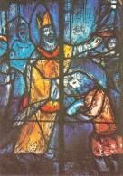 51 - Cathédrale De Reims VITRAUX DE CHAGALL - Fenêtre De Droite: Baptême De Clovis - Reims