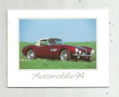Calendrier , Petit Format , 1994 , Les EGOUTIERS DE VOTRE QUARTIER , Automobile 94 , BMW 507 Cabriolet 1957 , 3 Scans - Kalender