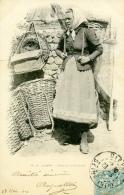 76-DIEPPE-Porteuse De Poisson-1904 - Dieppe