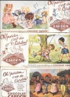 Buvard Publicitaire Chocolat Cardon - Kakao & Schokolade