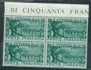 Italia 1948 Nuovo** - Bassano Quartina - 1946-60: Nuovi