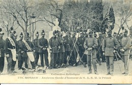 Collection Artistique. 770, Monaco. Ancienne Garde D'Honneur De S.A.S.M. Le Prince. - Altri