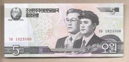 Corea Del Nord - Banconota Non Circolata Da 5 Won - 2009 - Corea Del Nord